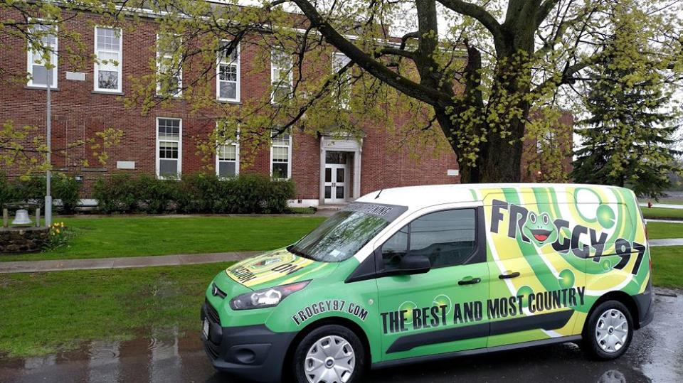CHECK OUT THE BRAND NEW FROGGY 97 VAN